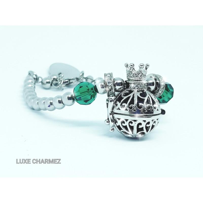Imperial Emerald Diffuser Bracelet