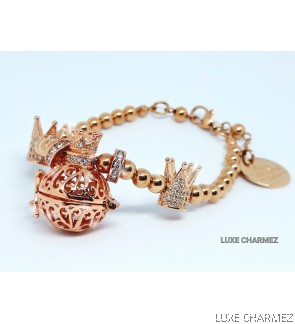 Crown Majesty Diffuser Bracelet