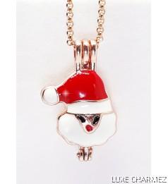 Santa Diffuser Necklace