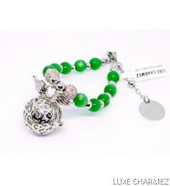 Empress Diffuser Bracelet | Agate Crystal