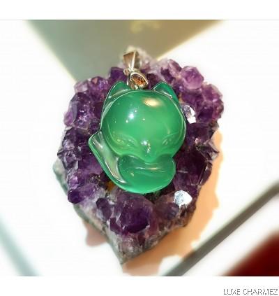 Missy Green Foxxy | Chalcedony Crystal