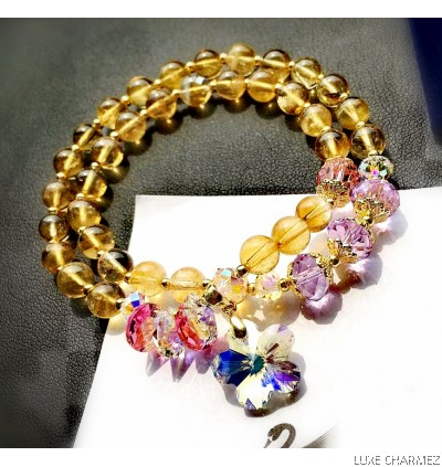 Wealth Powerstone Bracelet | Citrine